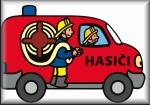 Prvňáčci na návštěvě u hasičů